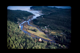 Aerial, Oona River Near Prince Rupert