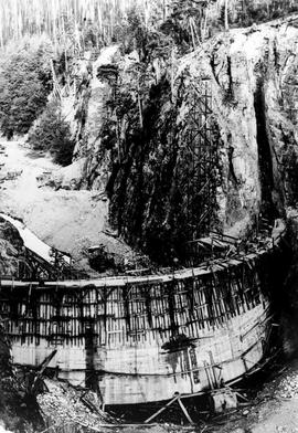 """Nanaimo Dam construction, 14th Aug 1931"", No. 25."