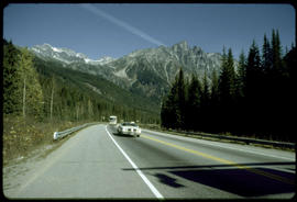 Highway At Rogers Pass, Glacier National Park