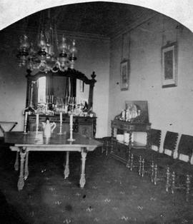 [Interior of Government House showing dining room, Victoria.]