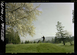Golfing At Cowichan Valley Golf Course