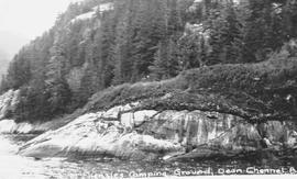 Sir Alexander Mackenzie rock in Dean Channel, near Bella Coola.