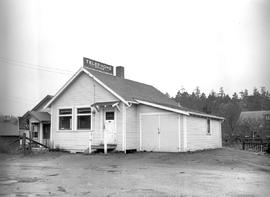BC Telephone Company operations on Salt Spring Island..