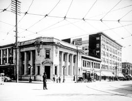 Looking south on Douglas Street from northwest corner of Yates  Street, Victoria
