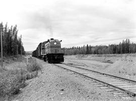 Pacific Great Eastern Train North Of Quesnel