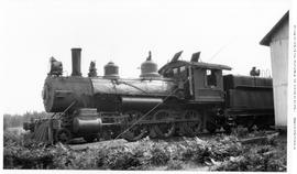 4-6-0 Esquimalt and Nanaimo [E & N] No. 228  Left view, almost broadside. Closeup. Good detai...