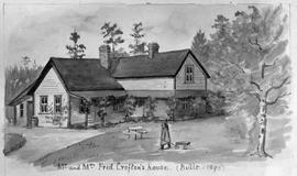 """Mr. and Mrs. Fred Crofton's house, built 1890."""