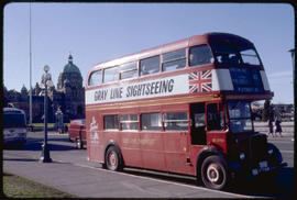 Victoria. Double-Decker Bus