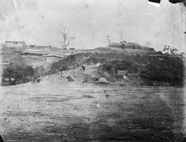 [Canton, China] 1,2,3 Panoramic View of the heights from the Grand Parade Ground, on the right is...