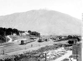 """CPR Depot, hotel and yards, Revelstoke"""