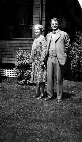 Wes and Nellie McClung.