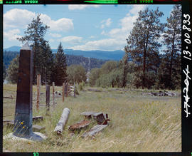 Kootenay River west from boundary marker No. 244