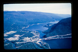 Aerial Sicamous And Shuswap Lake
