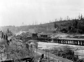 Brooks, Scanlan And O'Brien Sawmill Operation At Stillwater