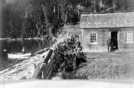 Theodore Nelson's cottage on Denman Island