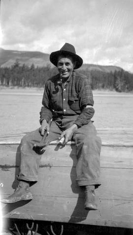 Bob Alexander; Peace River boatman.