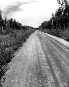 Alaska Highway, Mile 282.1 Looking West