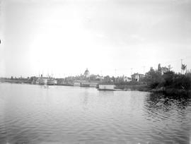 Victoria's Inner Harbour, the Legislative buildings at the centre.