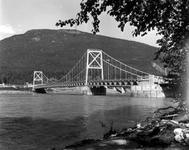 Bridge Over The Columbia River At Revelstoke
