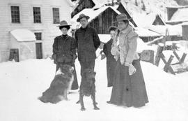 People Behind S.A. Roger Hotel, Barkerville