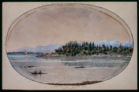 Cadborough Bay, August 16, 1862, Looking S.E.
