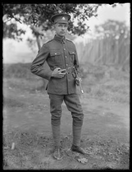 Soldier from Siberian Expeditionary Force
