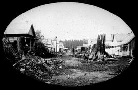 Main Street, Granville; Later Became Vancouver.