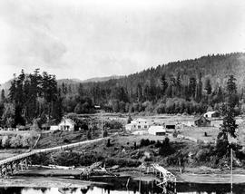 The Milne Farm at Milne's Landing, Sooke.