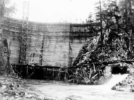 """Nanaimo Dam construction, 15th Oct 1931"", No. 32."