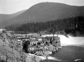 Bonnington Falls power plant.