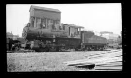 0-6-0, No. 6193, Switcher; Drake Street yard, Vancouver.