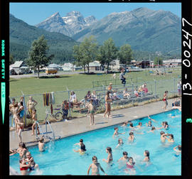 Swimming Pool At Fernie