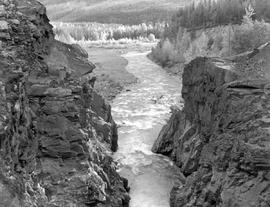 Moricetown Canyon And The Bulkley River