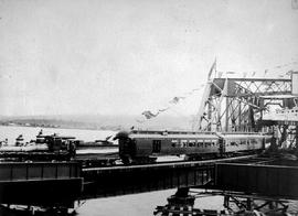 New Westminster; Opening Of Fraser River Bridge Train Crossing.