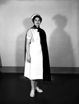 A nurse from the Royal Jubilee Hospital.