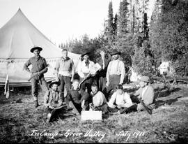 In camp, Greer Valley July 1911