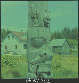 Totem Pole, Skidegate Queen Charlotte Islands