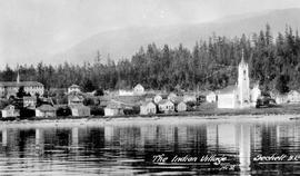 """The Indian Village, Sechelt, BC."""