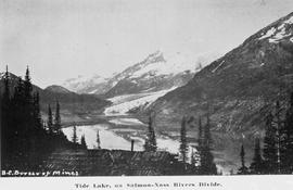 """Tide Lake, on Salmon-Nass Rivers Divide."""