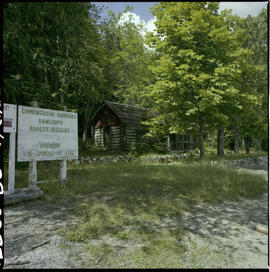 Forest Service Ranger Station, Cinnemousun Narrows.