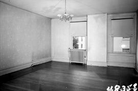 "One of the rooms at George H. Aylard's residence ""Stonehaven"", 625 Elliot Street, Victoria; just prior to being demolished"