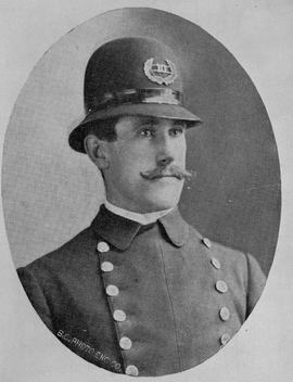 Andrew Wood, constable in the Victoria police force.