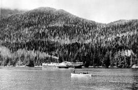 SS Ancon Awaiting Assistance In Safety Cove