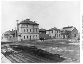 Albion Iron Works, northeast corner of Chatham and Store Streets, Victoria; established in 1861 a...