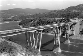 Columbia River Bridge At Kinnaird