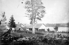 Ince Cottage, the Crease family homestead in New Westminster, from 1869 - 1969; the Bishop's house is next door.