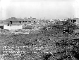 Housing Subdivision Under Construction; Rutledge Street - Looking North, Victoria.
