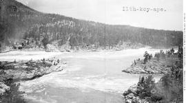 Columbia River, Kettle Falls.