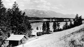 """Lake Windermere auto camp, Invermere, BC."""