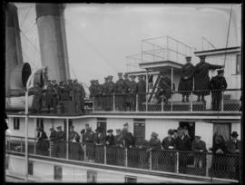 RCGA and CAMC troops aboard the Princess Victoria